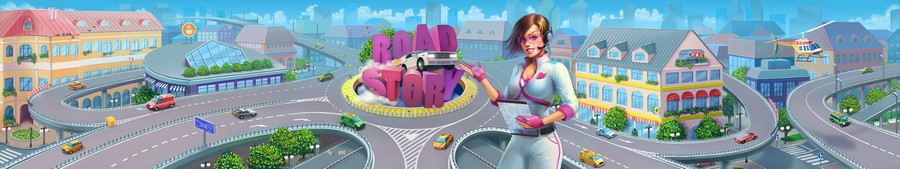 RoadStory screen