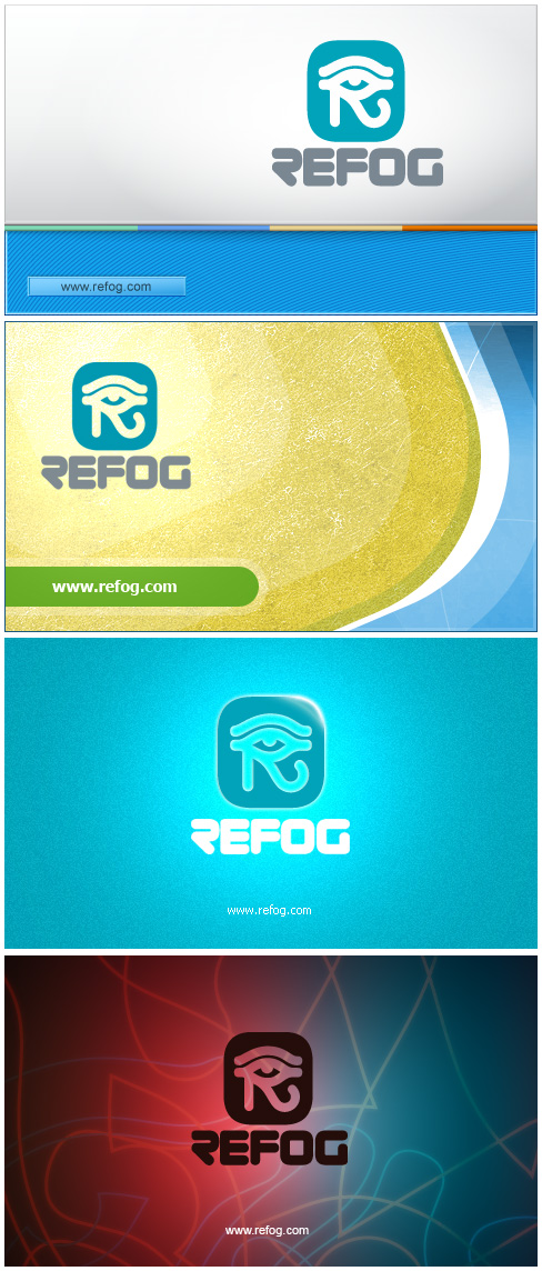 Splash-screen for Refog