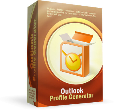 Boxshot design for Outlook Profile Generator