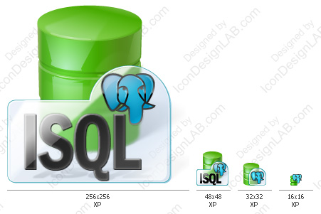 Application icon for Interactive SQL for PostgreSQL