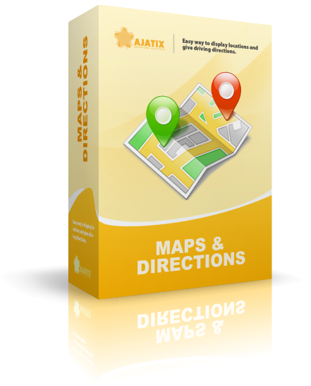 Boxshot design for Maps & Directions