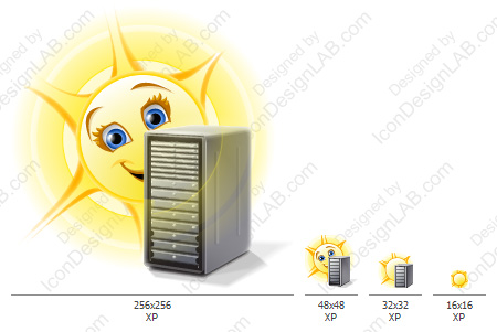 Application icon for Solar FTP Server