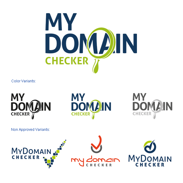 Logotype Design for My Domain Checker