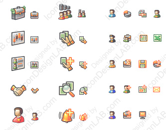 Toolbar icons for InvestTool