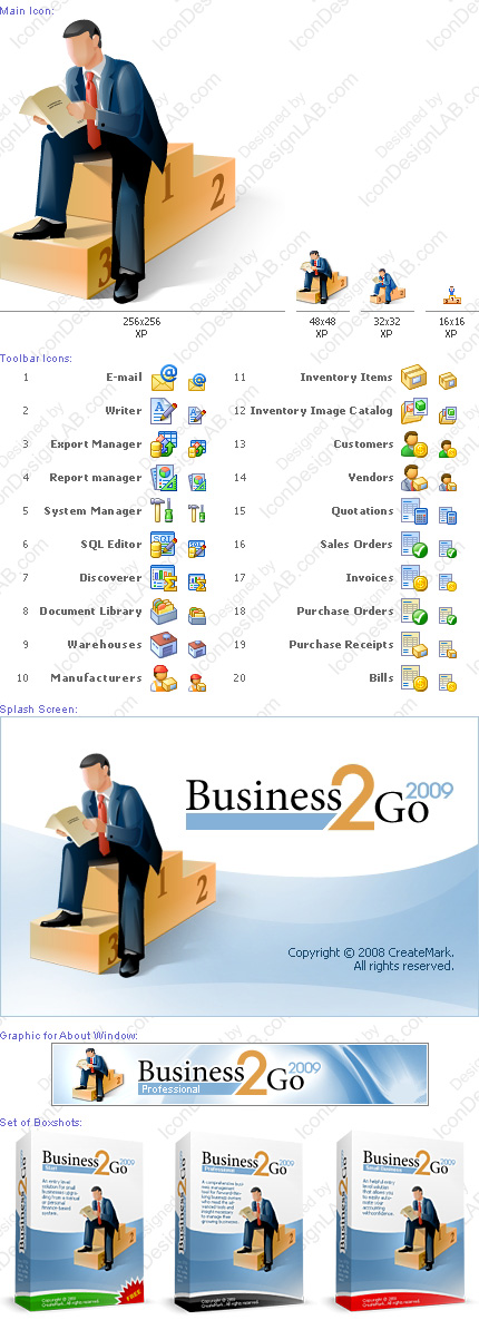 Software Identity Design for Business2Go
