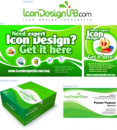 Various Works for IconDesignLAB.com