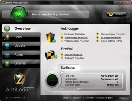 GUI Design for Zemana AntiLogger