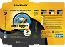 Real boxshot design for Zemana AntiLogger