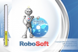 Splash screen for Robosoft