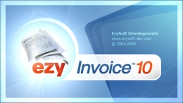Splash screen for Ezy Invoice