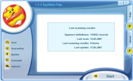Skin Design for 1-2-3 Spyware Free