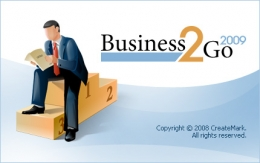 Splash screen for Business2Go