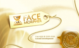 Splash screen design for Face Morpher