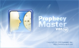 Splash screen design for Prophesy Master