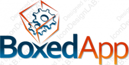 Logo design for BoxedApp