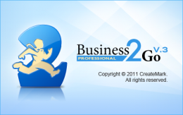 Splash Screen redesign for Business2Go