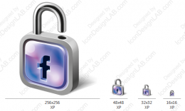Application Logo Design for Facebook Password Extractor
