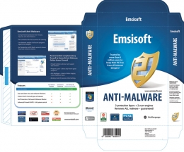 Real Boxshot Design for Anti-Malware