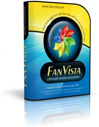 Boxshot Design for FanVista Audio Converter