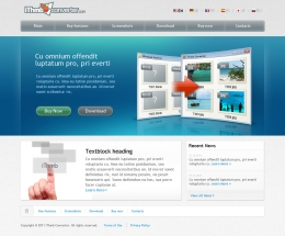 iThmb Converter Website Design