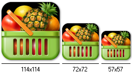 Main Icon Design for Best Shopping List
