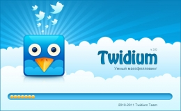 Splash Screen for Twitdium