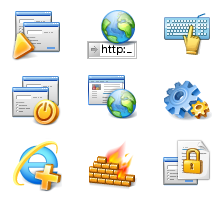 Toolbar Iconset for Firewall Online Armor