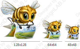 Application Icon for Image Bee