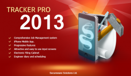 Splash Screen for Tracker Pro Management Studio