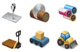Icons for Maschinensucher.de