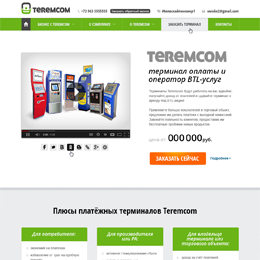 Website design for Teremcom