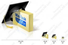 Main icon for educator edition of WinFlash Educator